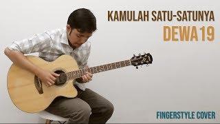 Dewa19 - Kamulah Satu Satunya (Fingerstyle Acoustic Guitar Cover)