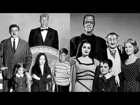 The Addams Family Vs. The Munsters - YouTube