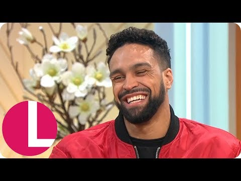 Dancing on Ice's Ashley Banjo Has Diversity on Standby if His Wife Goes Into Labour | Lorraine