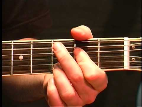 Beginning Guitar Lesson - G Major Chord In Open Position - YouTube