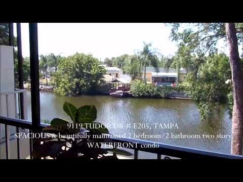 Tudor Dr E205 Tampa Fl Tudor Cay Condo Real Estate Tour Waterfront