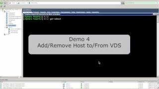 vds powershell cmdlets demo