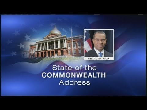 VIDEO: Gov. Patrick's final State of the Commonwealth Address