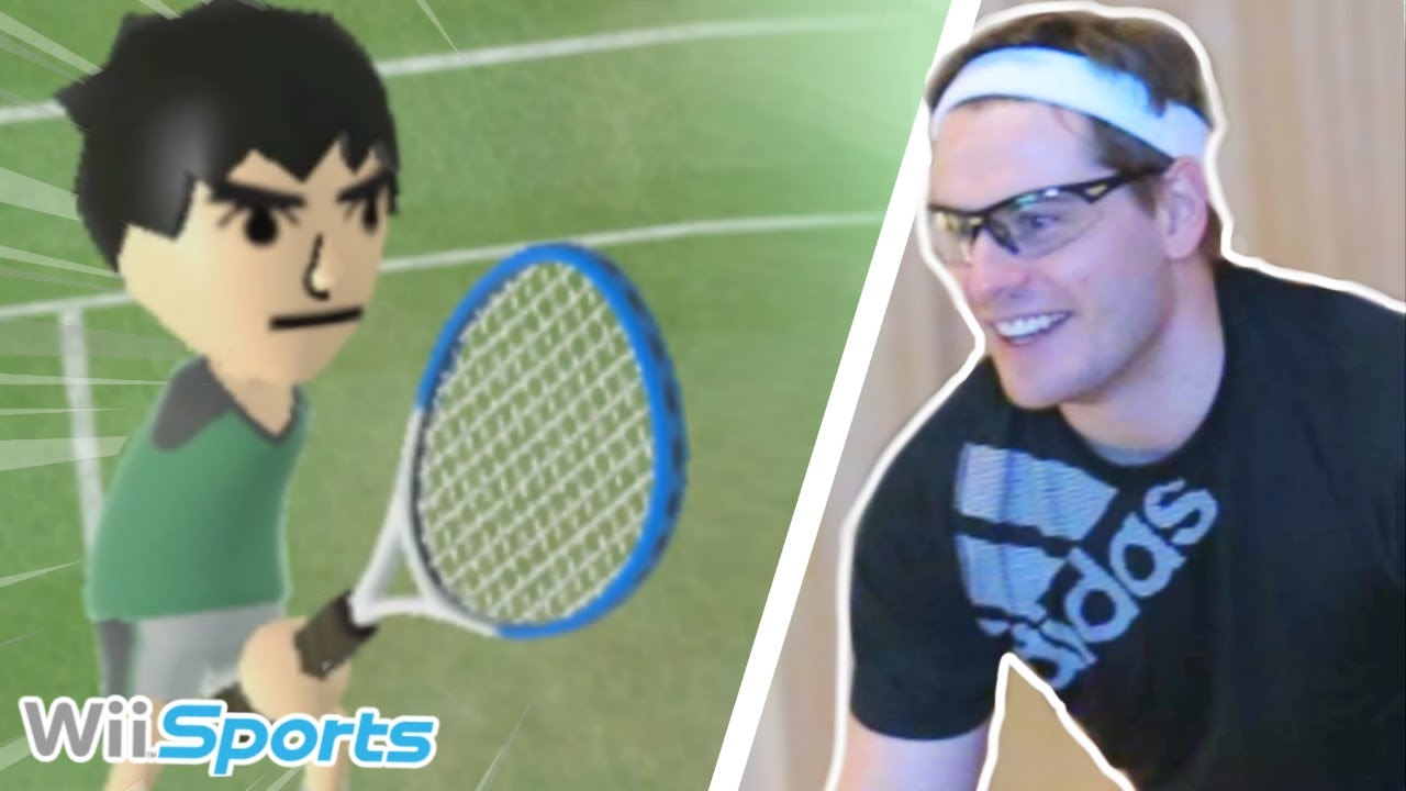 Wii Sports PLAYED way TOO SERIOUSLY! - Wii Sports Funny Moments