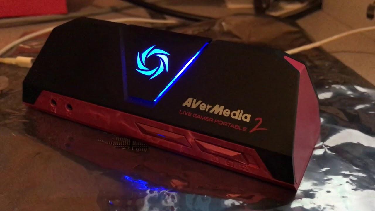 How to setup Avermedia LGP2 (Live Gamer Portable 2) for PSVR PS4 in PC Free  Mode DVR recording