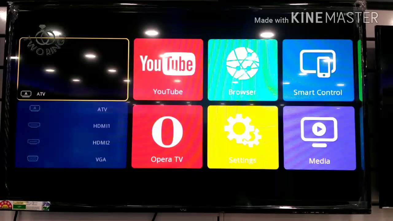 How to connect VU LED TV screen mirroring