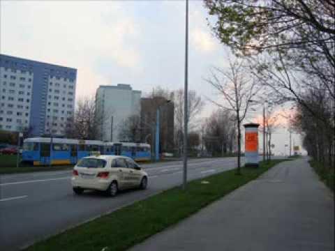 Chemnitz Fritz Heckert Gebiet, Vita-Center, Straßenbahn
