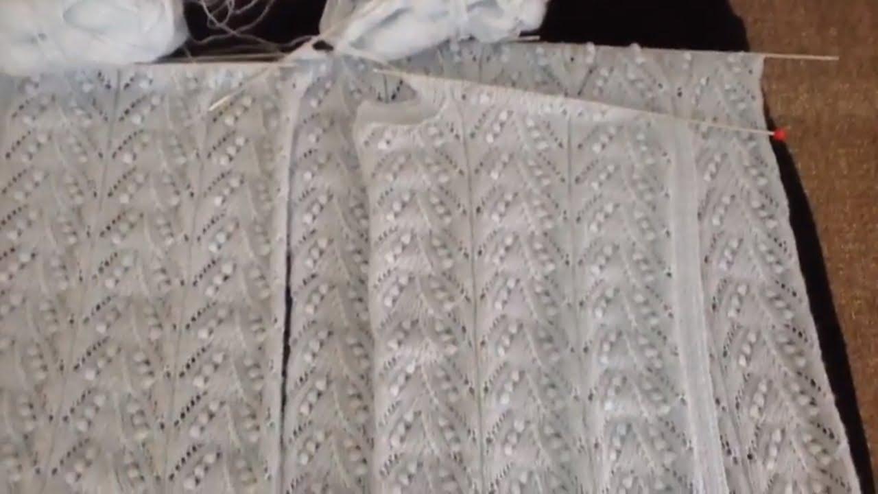 Ajurlu Çamlar Bayan Yeleği Koltuk Kesimi Nasıl Olur