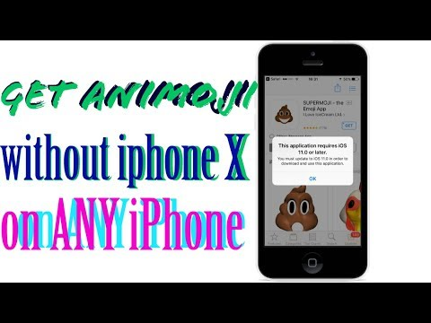 Get Animoji WITHOUT iPhone X! Animoji on ANY iPhone 5s/6/6s/SE/7/8 iPad  iPod iOS 11 No Jailbreak