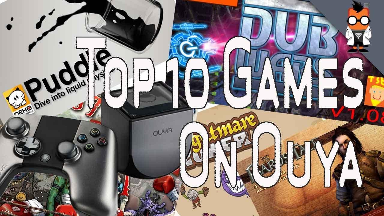 Top 10 Ouya Games