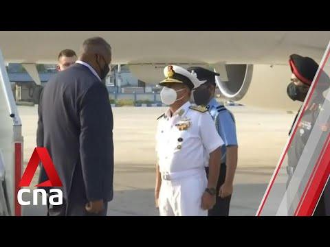 US Defense Secretary Lloyd Austin arrives in New Delhi for talks