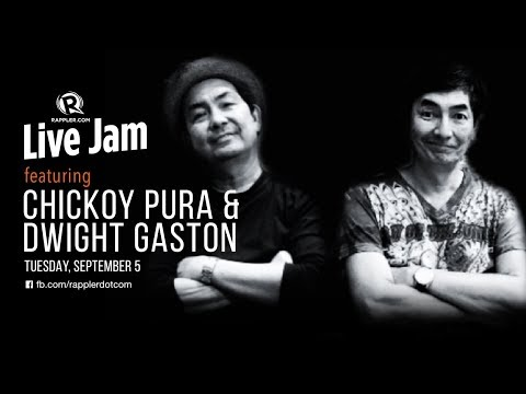 Rappler Live Jam: Chickoy Pura of The Jerks and Dwight Gaston