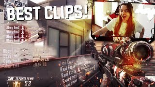 Red EmZ - Reacting To My FAVOURITE SNIPING CLIPS! (Multi-CoD)