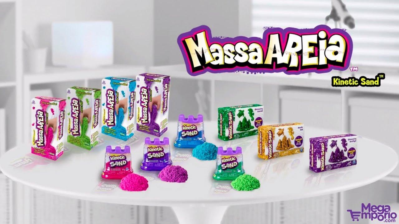 be4b1ea78c Massa Areia a Areia de Modelar da Sunny - Mega Empório - YouTube