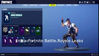 Fortnite Battle Royale | Hand Signals Leaked Emote
