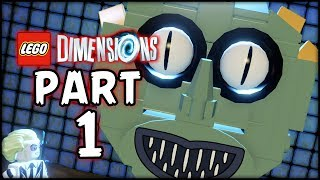 LEGO Bettlejuice Dimension - Part 1 - The Monster! (Lego Dimension)