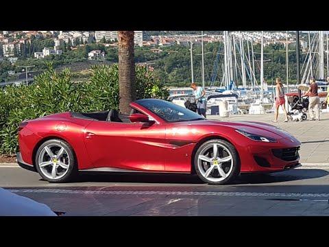 New Ferrari Portofino – extended video – commercial shoot @ Koper, Slovenia