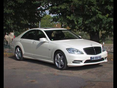 Essai Mercedes Classe S Hybrid 2009 - YouTube