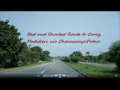Best Route To Madikeri|Shortest Route To Coorg|Coorg Via Hassan|Madikeri Via CRPatna| Blr To Coorg