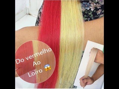 Download Do vermelho intenso ao Loiro Blond, sem descolorir facil facil