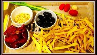 Очень простой и вкусный рецепт Паста Песто из вяленых помидоров