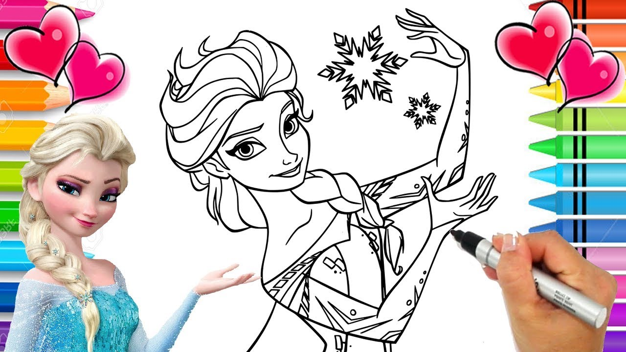 Disney Frozen 2 Elsa Coloring Page Frozen 2 Coloring Book Anna