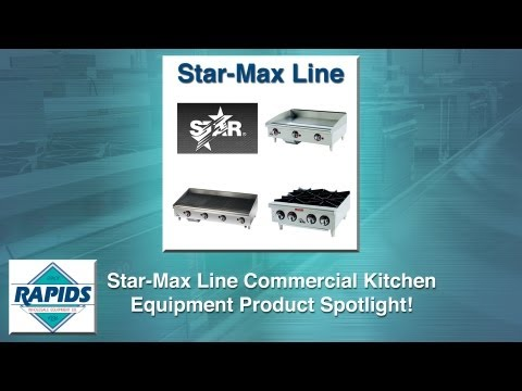 STAR-Max Griddles, Char-broilers And Hot Plates Spotlight (Review) From RapidsWholesale.com