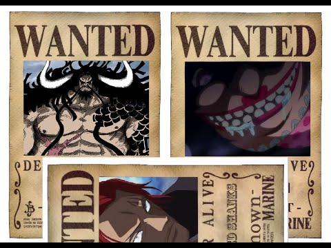 One Piece - The (4)Four Emperors ☠ (Yonko-四皇) of the New World - After Timeskip 2016 HD