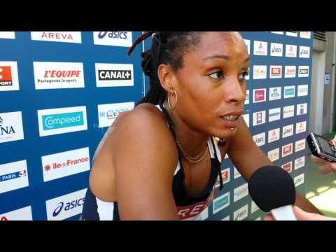 Phara Anacharsis revient sur son titre de championne de France 2013 du 400m haies