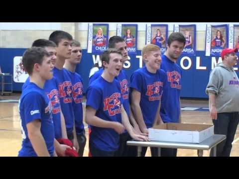 West Holmes High School Cake Auction - 2016 - WH vs Orrville Girls Basketball