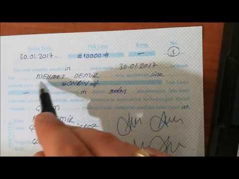 Boş senede imza attı, hayatı karardı!