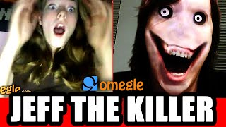 Jeff the Killer Scares Omegle Video Chatters! thumbnail