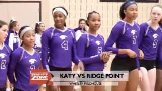 Katy Tigers vs Ridge Point Panthers 11-8-16