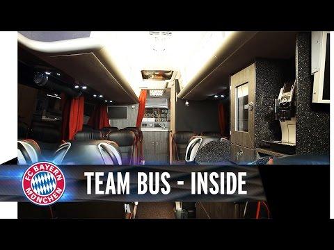 FC Bayern Team Bus - Inside