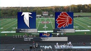High School Football Game of the Week # 7 - Blair Oaks @ Osage