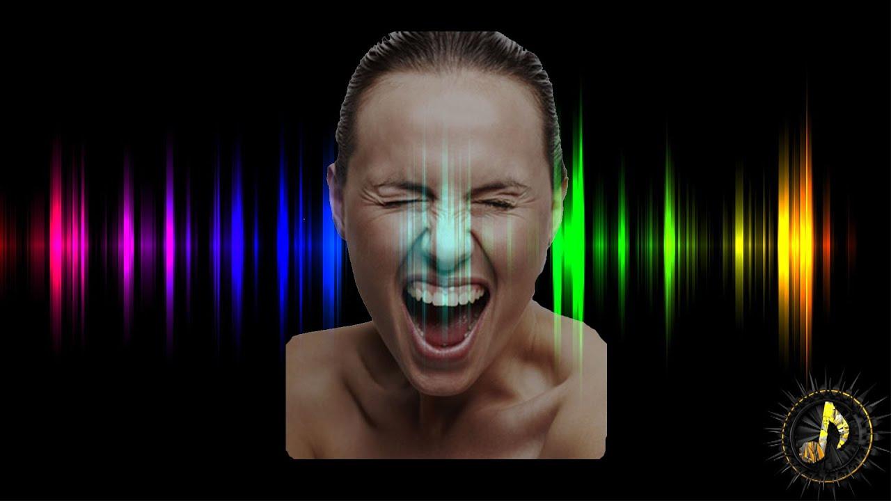 Скачать звуки крик человека