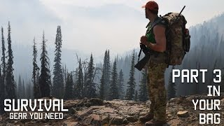 Best Survival Gear to keep in your Bag | Part 3 | Tactical Rifleman