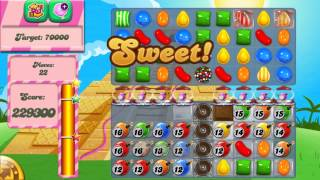 Candy Crush Saga Level 334 No Boosters