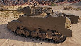 World of Tanks M8A1 2027 DMG - Airfield