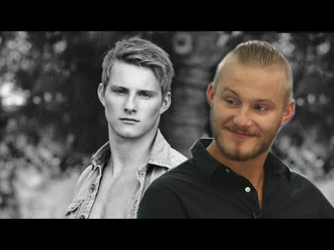 EXCLUSIVE: Alexander Ludwig on His 'Abercrombie' Modeling Days  and His Hot Mom!