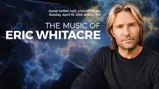 WQXR Advertisement - Eric Whitacre at Lincoln Center 2018