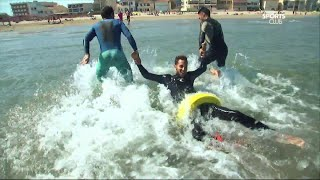 Canal Sports Club - Houhou est-il ? Sauvetage en mer !