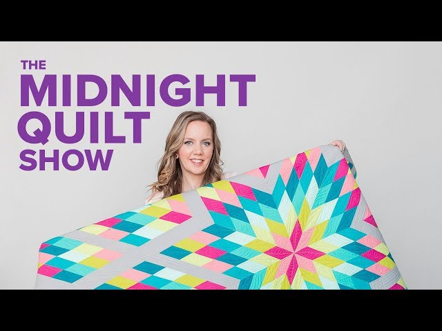 Spring Stardust Quilt | The Midnight Quilt Show with Angela Walters