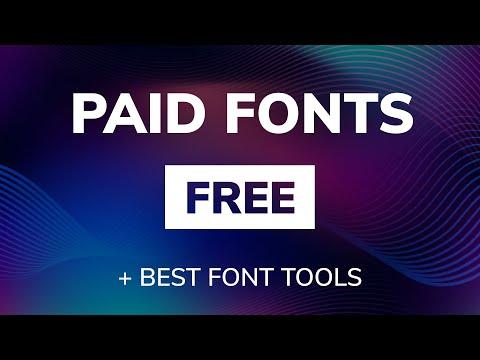 Top 50 Best Free Fonts for Youtuber & Designer --------------------------------------- Top 10 Best F.