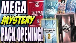 NBA 2K19 MYTEAM MEGA MYSTERY PACK OPENING EPISODE 2! WE FINALLY PULL SOME FIRE!