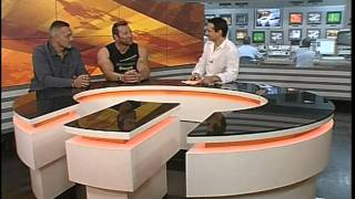 Gunter Schlierkamp on TV (live) in Kazan (Russia), I thumbnail