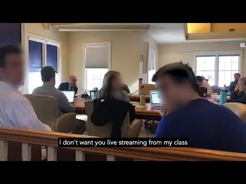 Middlebury College Crisis Meeting