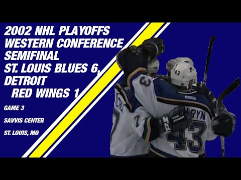 2002 Western Conference Semifinal Game 3: St. Louis Blues 6, Detroit Red Wings 1
