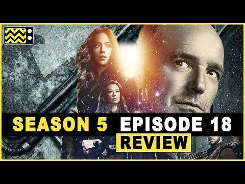 Agents of S.H.I.E.L.D. Season 5 Episode 18 Review & Reaction   AfterBuzz TV