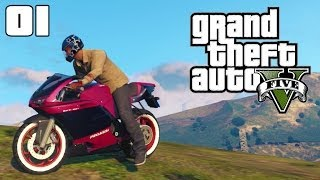 GTA 5 Bike Stunts #01 (GTA V Jumps, Stunts and Crashes)